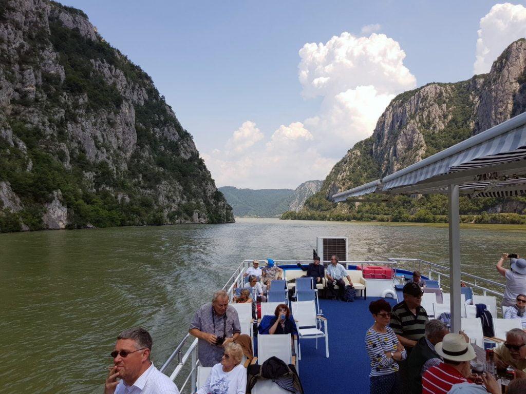 4 Srbija Dunav voznja odmor Donji Milanovac Tekija bove brodom kazani izlet akcija putovanje
