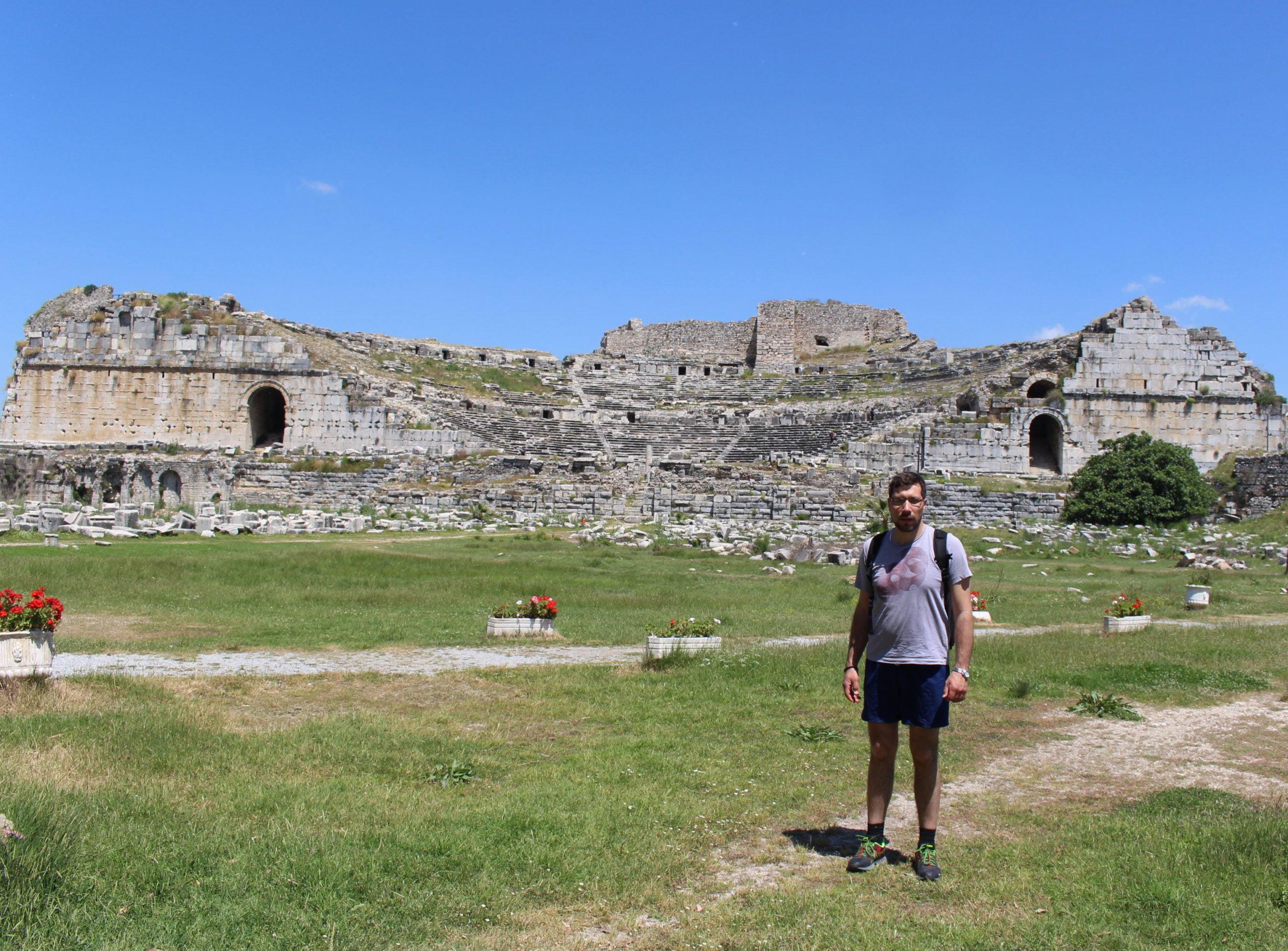 Amfiteatar u Miletu i samo jedan posetilac