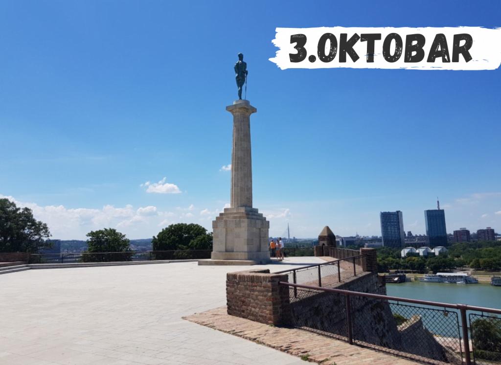 Beograd pesacka tura razgledanje sa vodicem upoznaj beograd