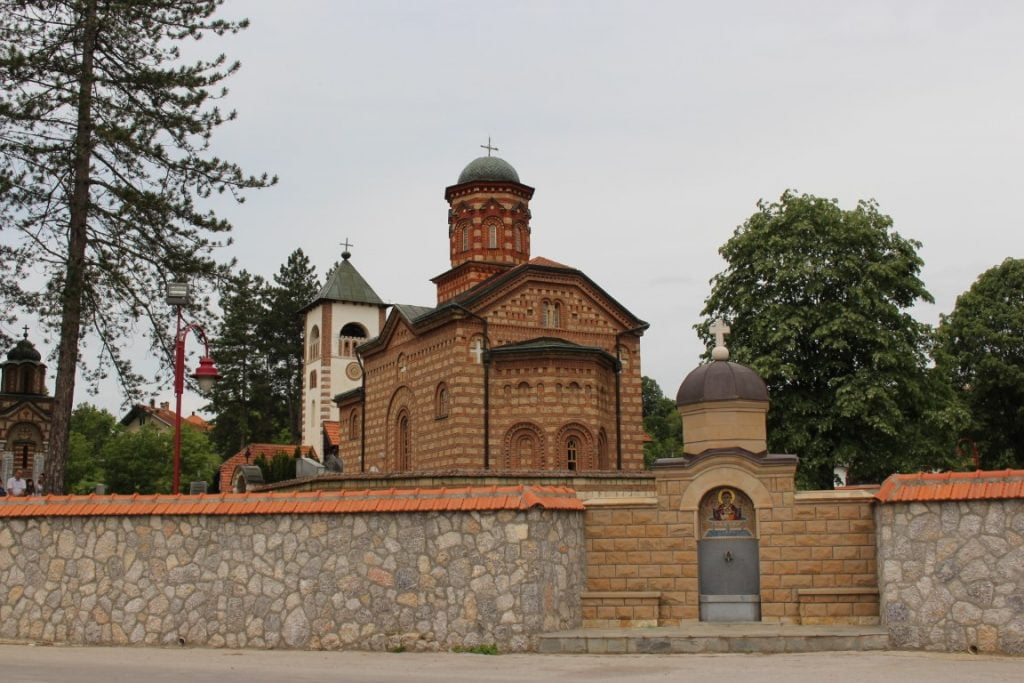 Klisura reke Gradac Valjevo manastir Leleic Celije autobusom