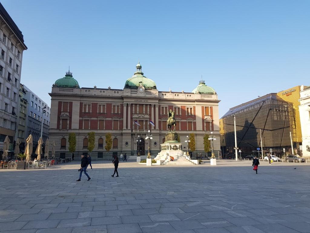 Srbija_trg_republike_narodni_muzej