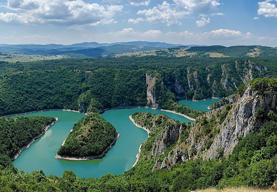 Kanjon reke Uvac vidikovac Molitva sjenica autobus putovanje vikend izlet