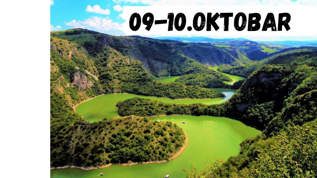 Vikend izlet Meandri reke Uvac sjenica Zlatar krstarenje Uvcem jedno nocenje ok